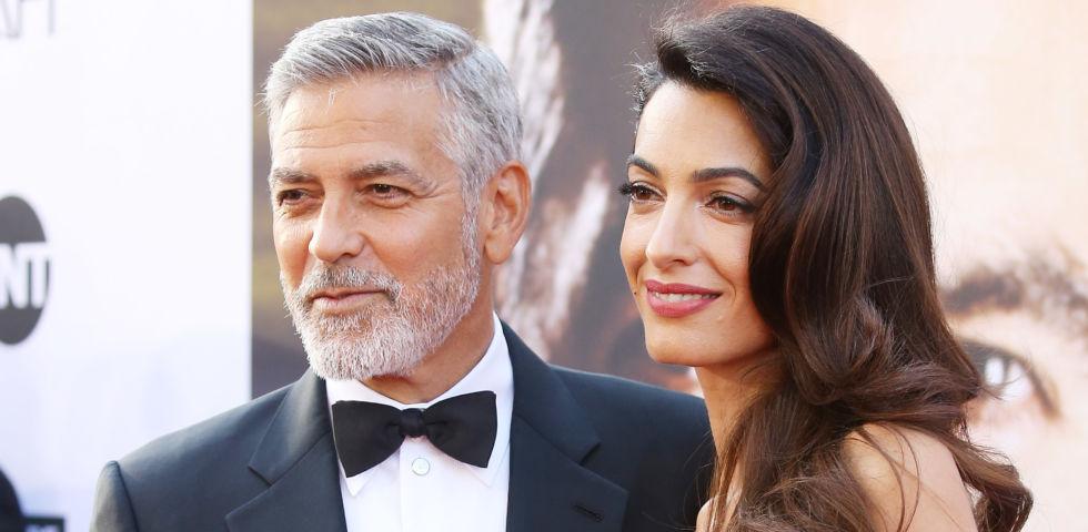 George e Amal Clooney, le foto che smentiscono le voci della crisi