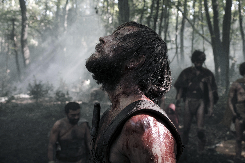 Il primo re, le foto del film con Alessandro Borghi