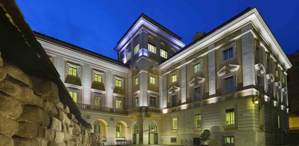 Palazzo Montemartini Rome festeggia l'ingresso nella Radisson Collection Hotel