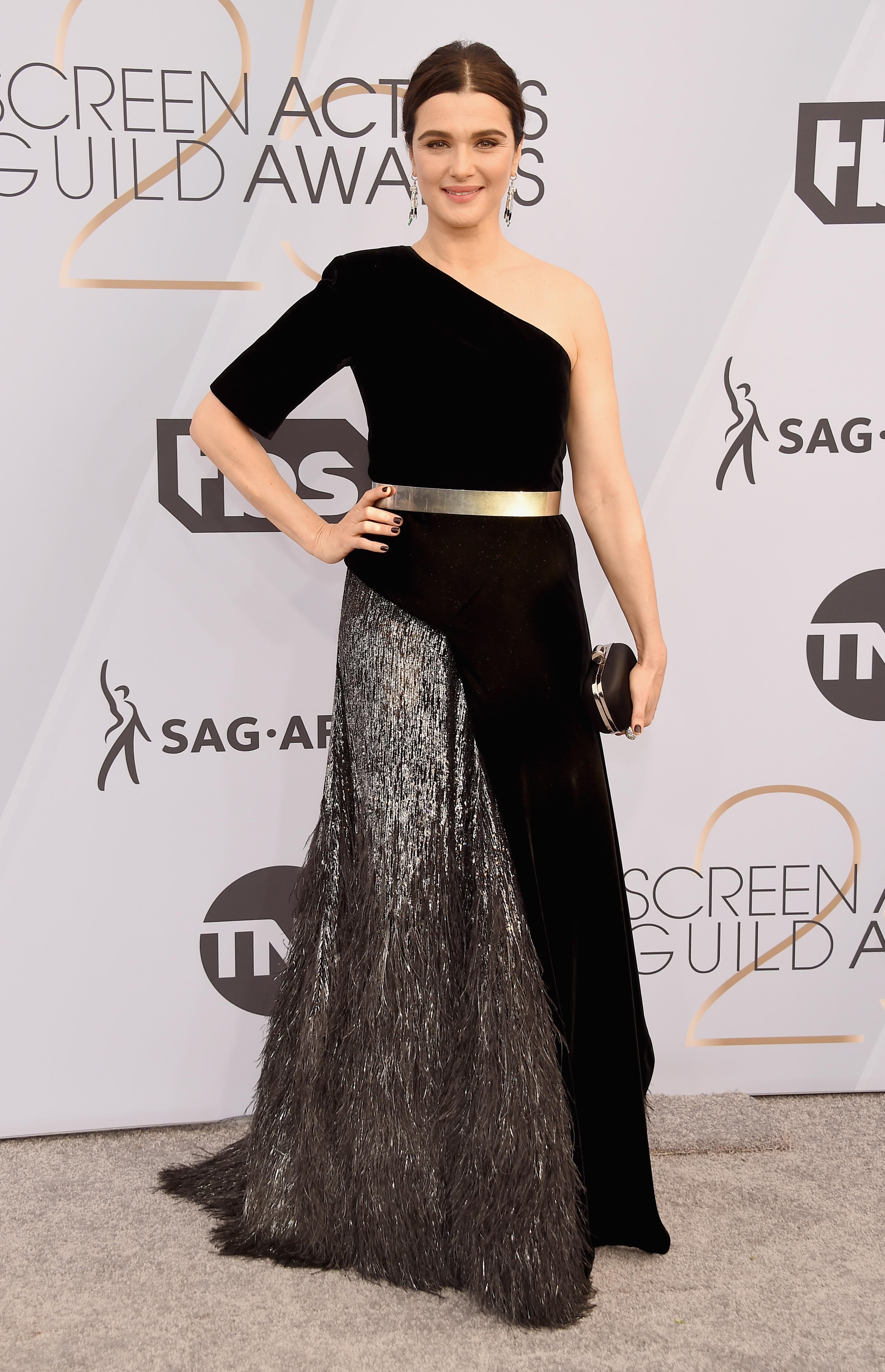 Rachel Weisz in Givenchy ai Sag Awards 2019