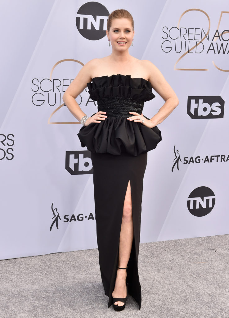 Amy Adams in Celine ai Sag Award 2019