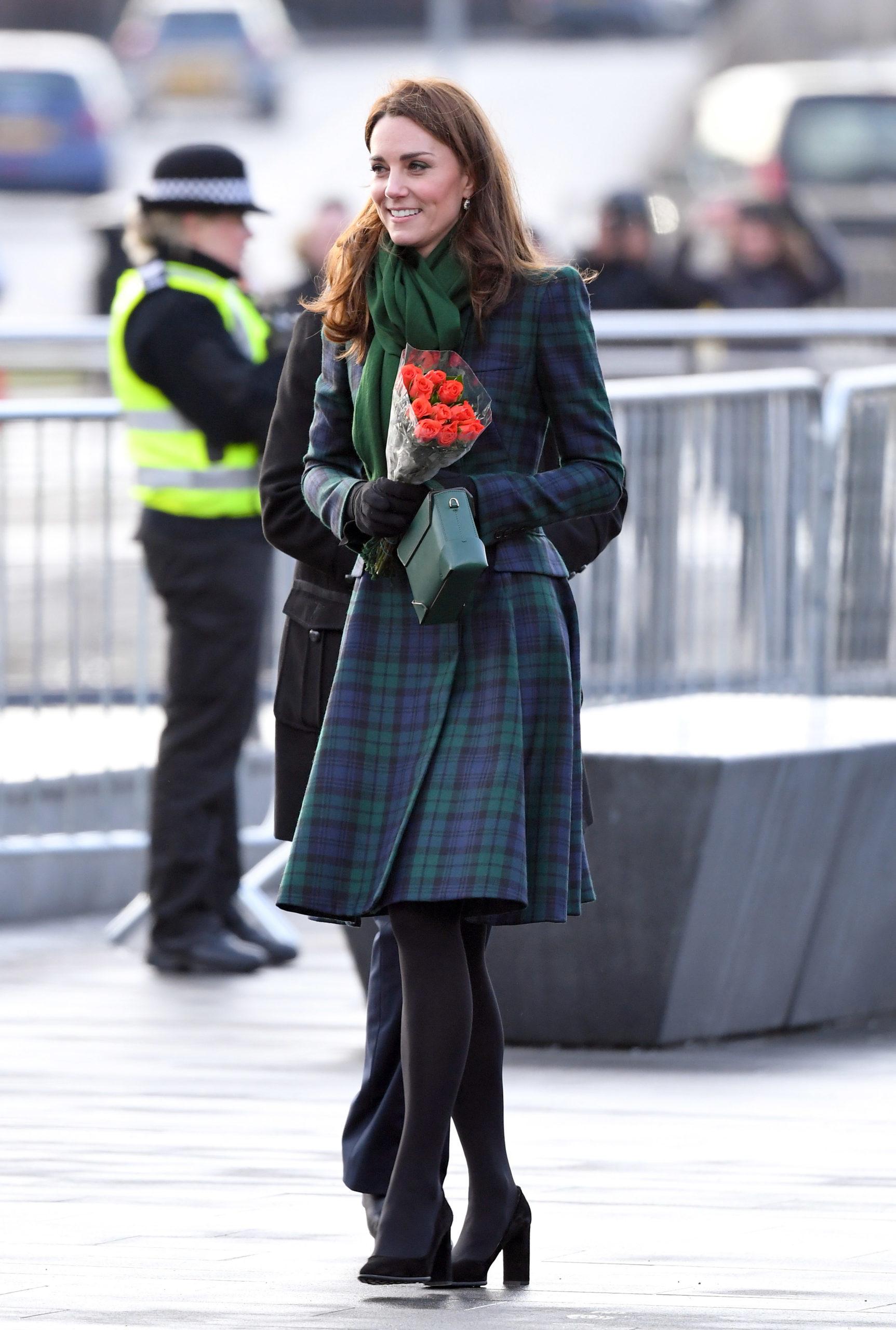 Kate indossa gli orecchini di Lady Diana