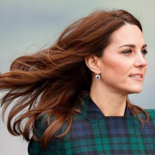 Kate Middleton indossa gli orecchini di Diana