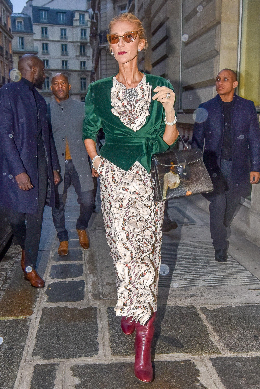 Céline Dion attaccata per la sua magrezza