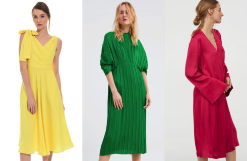 Abiti da cerimonia lunghi ed economici: Zara, H&M e Diffusione Tessile