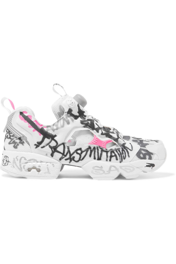 Sneakers Instapump Fury di Vetements