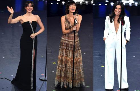 Sanremo 2019: look e beauty look della prima serata