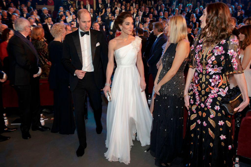 Bafta Winners 2019: Kate Middleton Ai BAFTA 2019 Con Gli Orecchini Di Diana