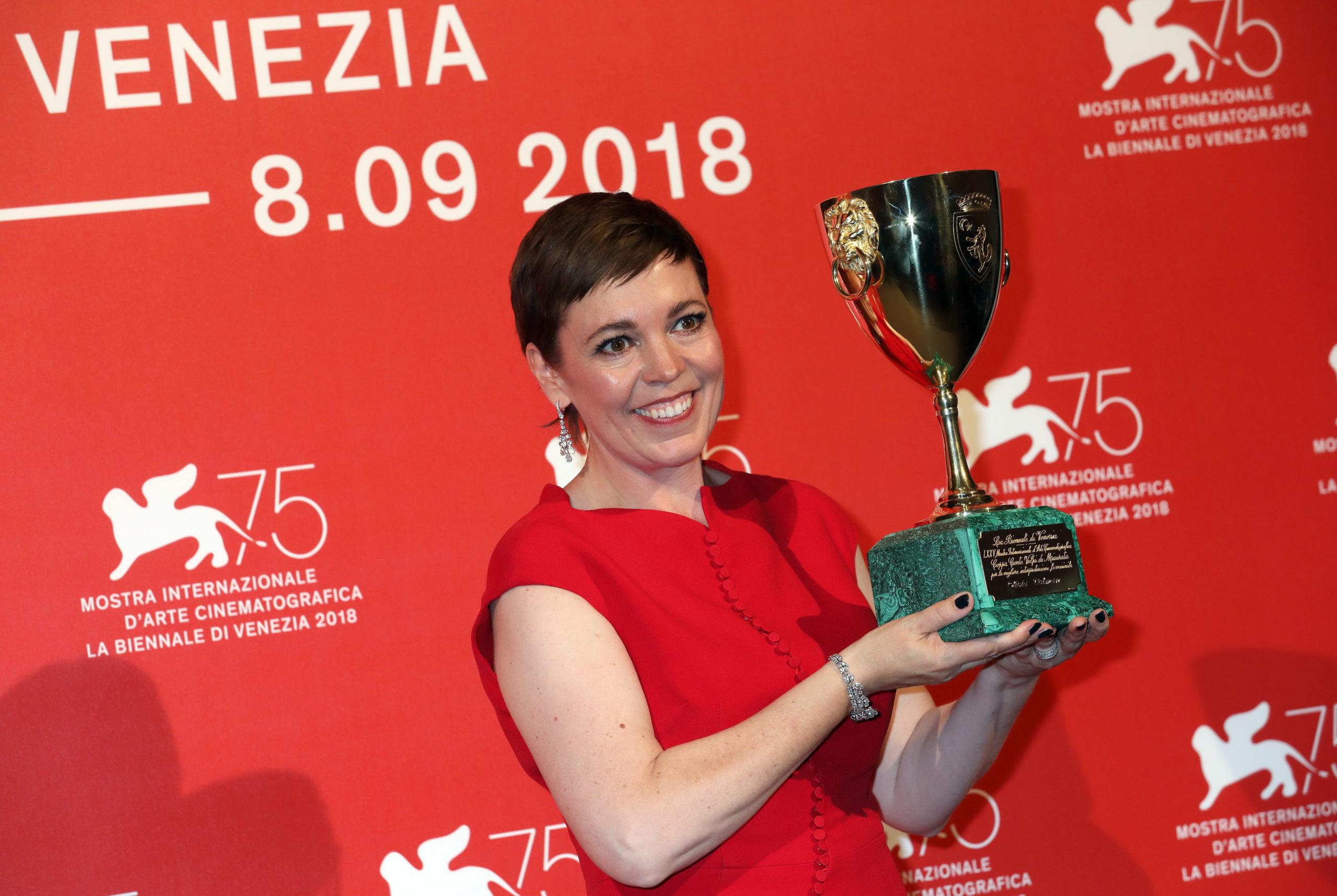 Olivia Colman alla 75esima Mostra del Cinema di Venezia