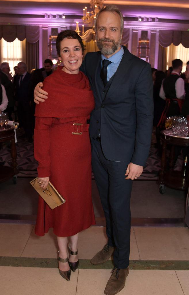 Olivia Colman e il marito Ed SInclair