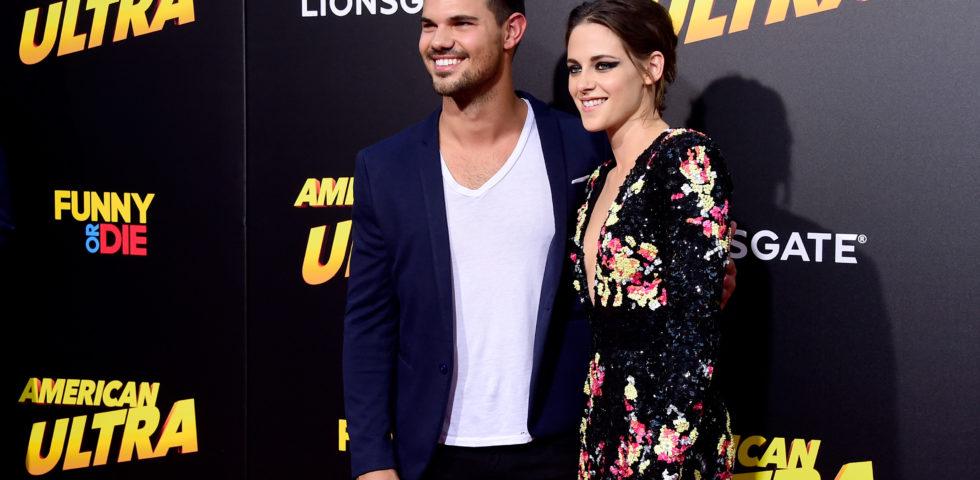 Twilight reunion: Kristen Stewart con Taylor Lautner per la foto di compleanno