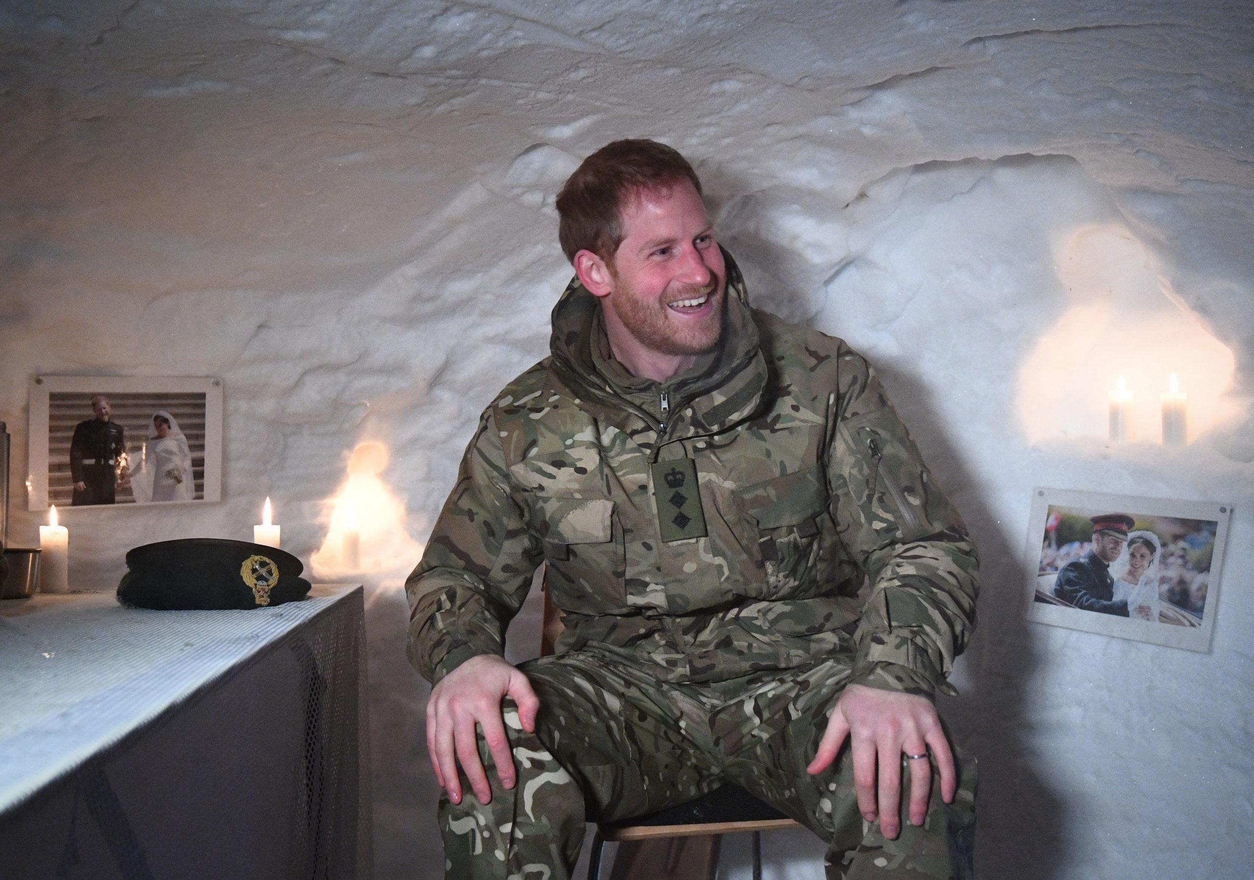 Il Principe Harry ha trascorso San Valentino in Norvegia