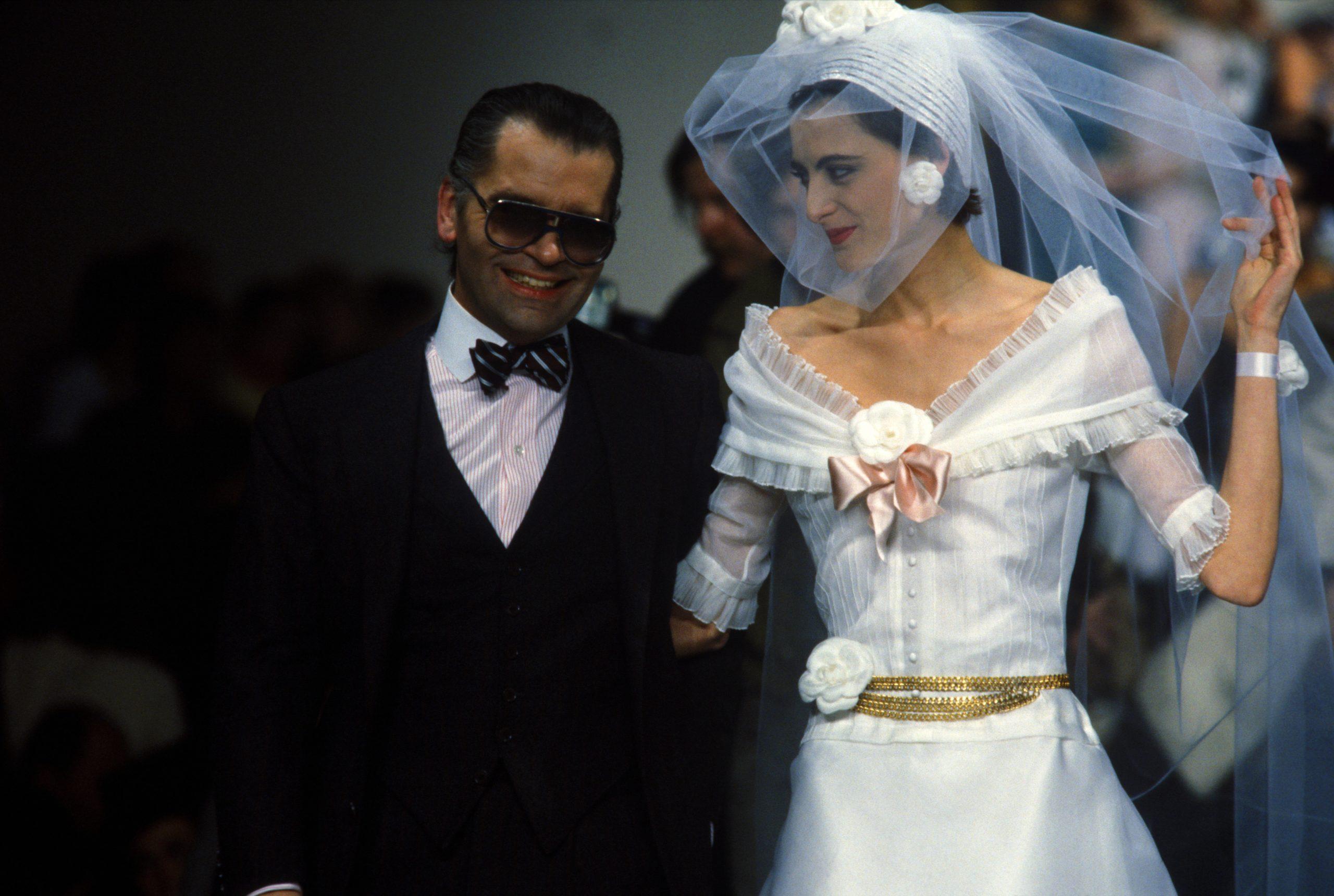Karla Lagerfeld nel 1984