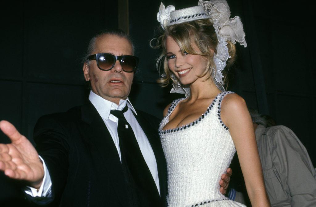 Karla Lagerfeld nel 1992