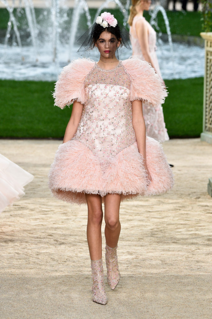 Abito Chanel disegnato da Karl Lagerfeld