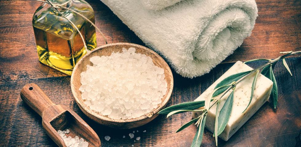 Sali da bagno: quali benefici trarne e come utilizzarli