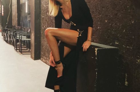 Alessia Marcuzzi: look Isola dei Famosi 2019