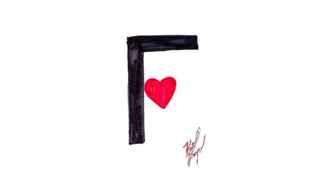 Logo Fendi disegnato da Karl Lagerfeld