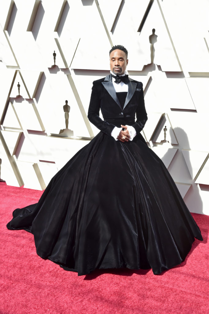 Billy Porter in Christian Siriano agli Oscar 2019