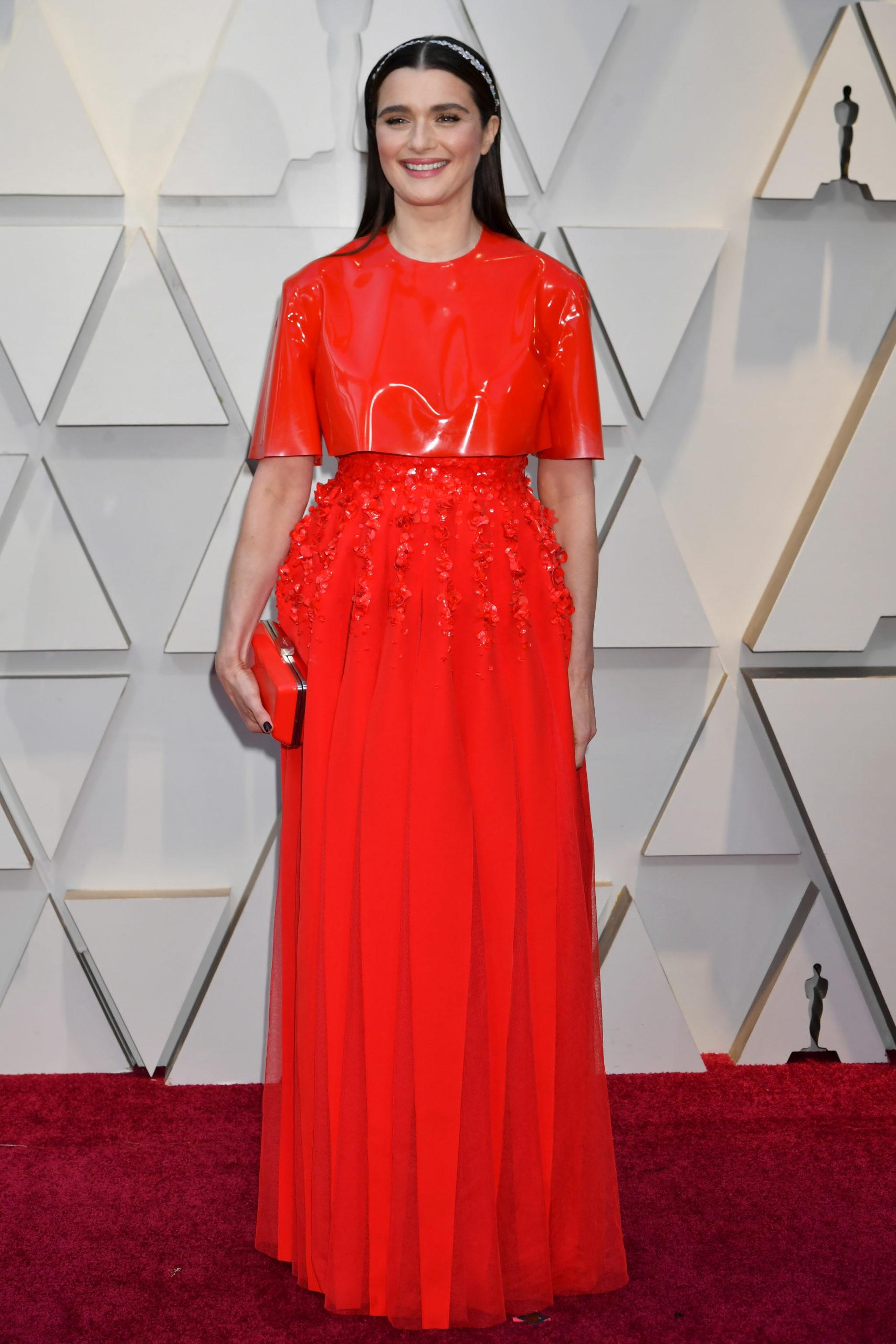 Rachel Weisz in Givenchy agli Oscar 2019