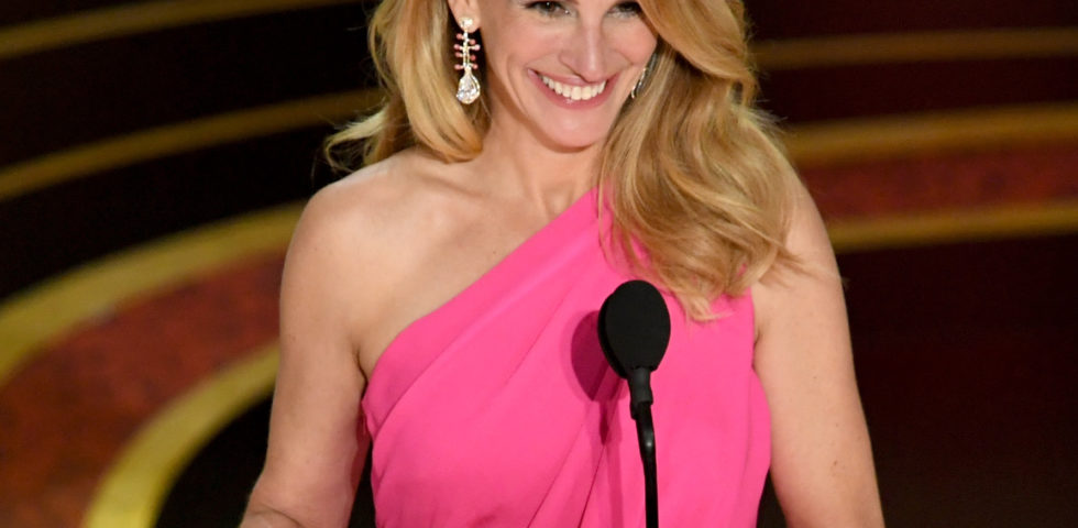 Il make-up di Julia Roberts agli Oscar 2019