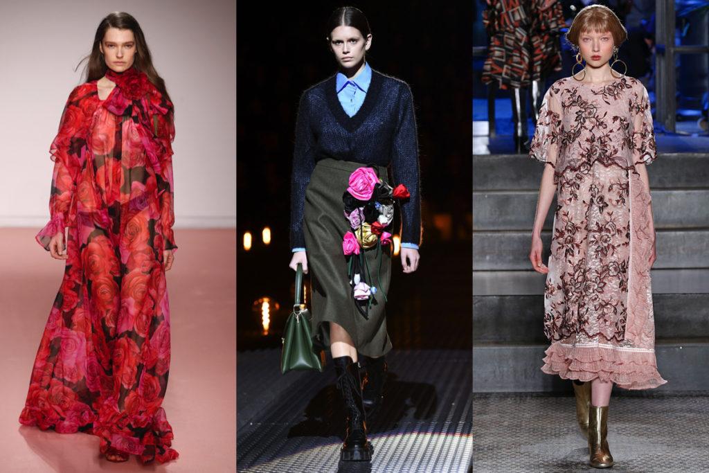 Tre look dalla Milano Moda Donna inverno 2020
