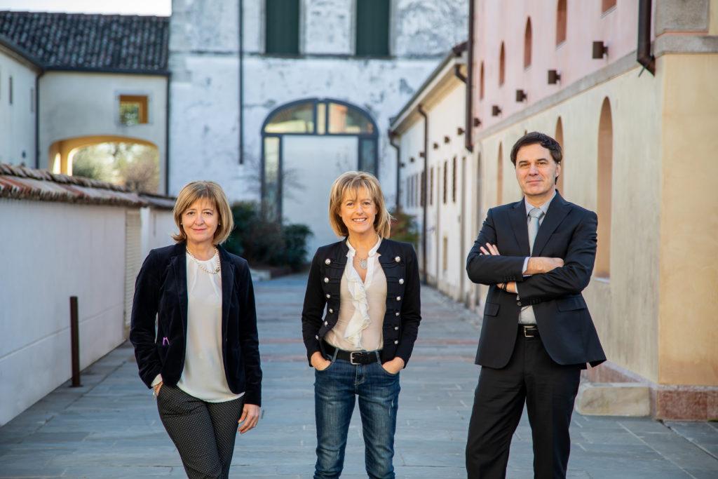 I tre soci fondatori di Glerage