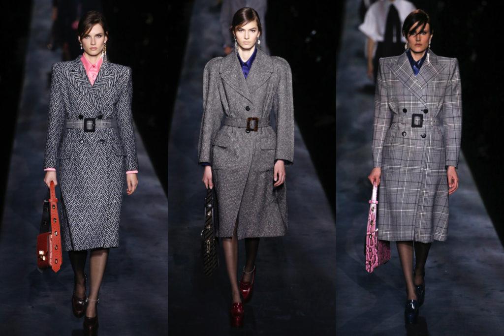 Tre uscite della Givenchy collezione Autunno-Inverno 2019/2020