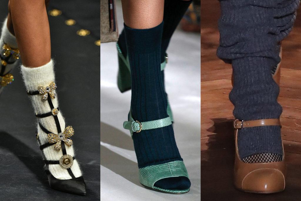 Scarpe Autunno-Inverno 2019/20: socks mania