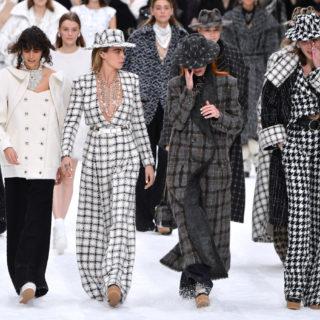 Chanel, saluti sulla neve a Kaiser Karl