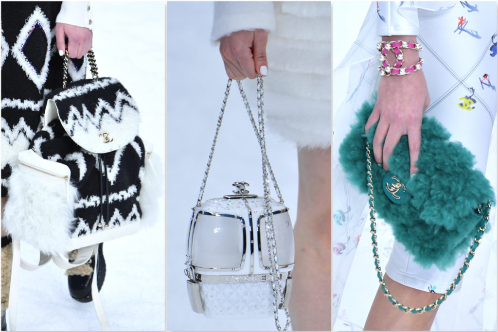 Tre borse Chanel