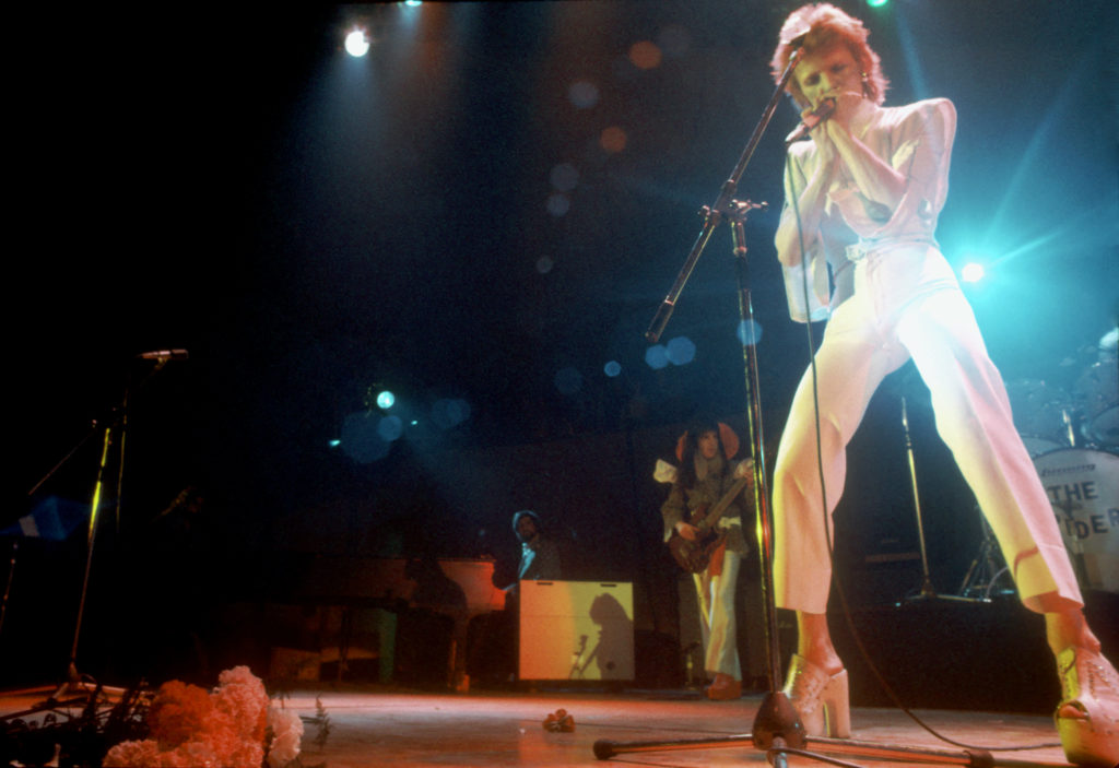 Omaggio a David Bowie nel weekend del 8.10 marzo a Roma