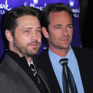 Jason Priestly ricorda Luke Perry