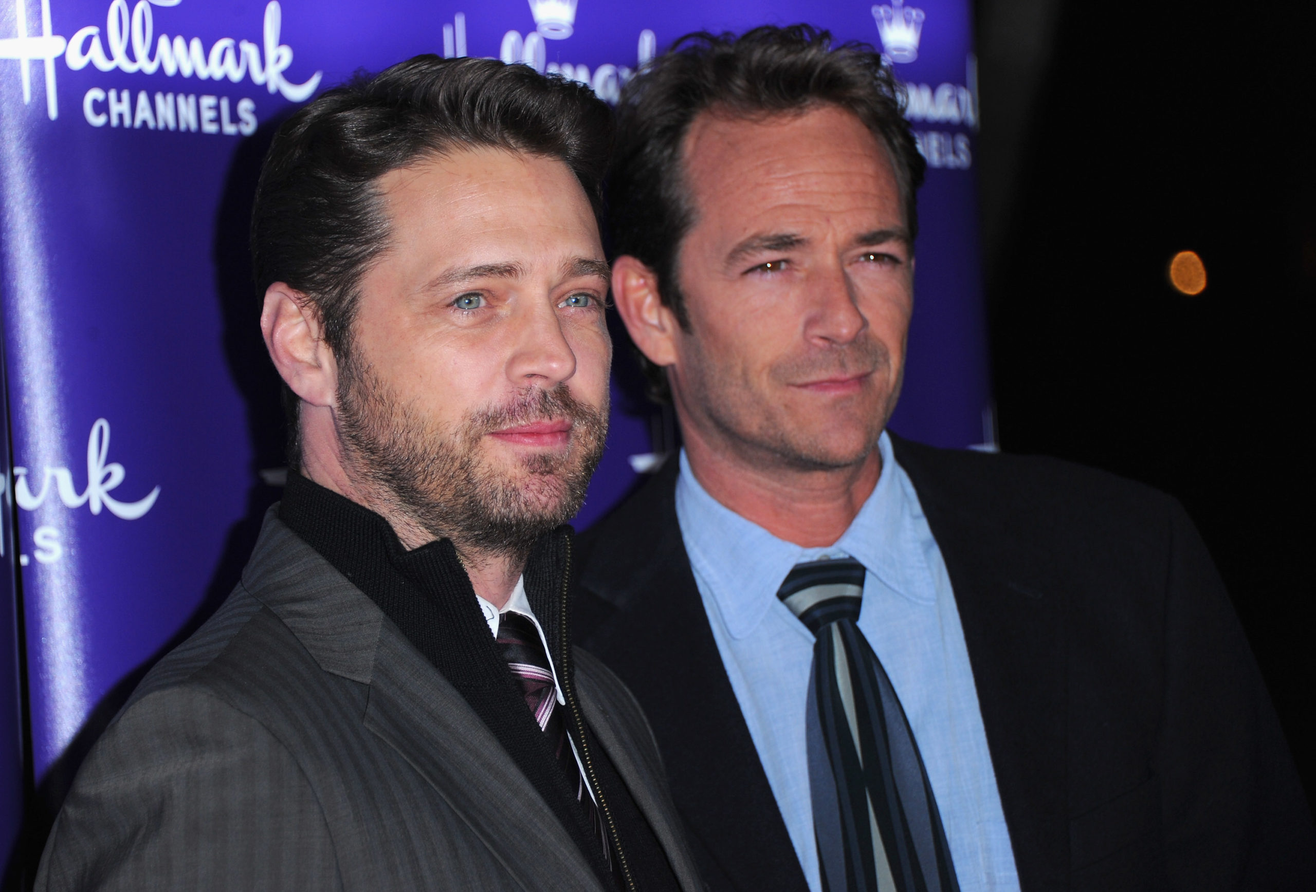 Jason Priestley ricorda Luke Perry