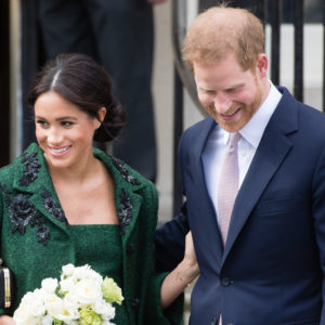 Meghan Markle: total look verde come Kate