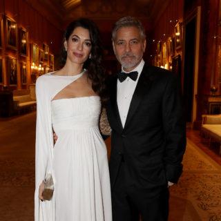 Amal Clooney incanta il Principe Carlo
