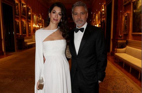 George e Amal Clooney a cena con il Principe Carlo