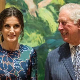Il Principe Carlo sedotto dalla Regina Letizia