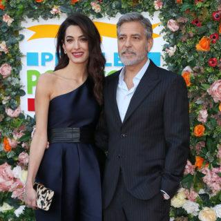 George e Amal Clooney felici e innamorati in Scozia