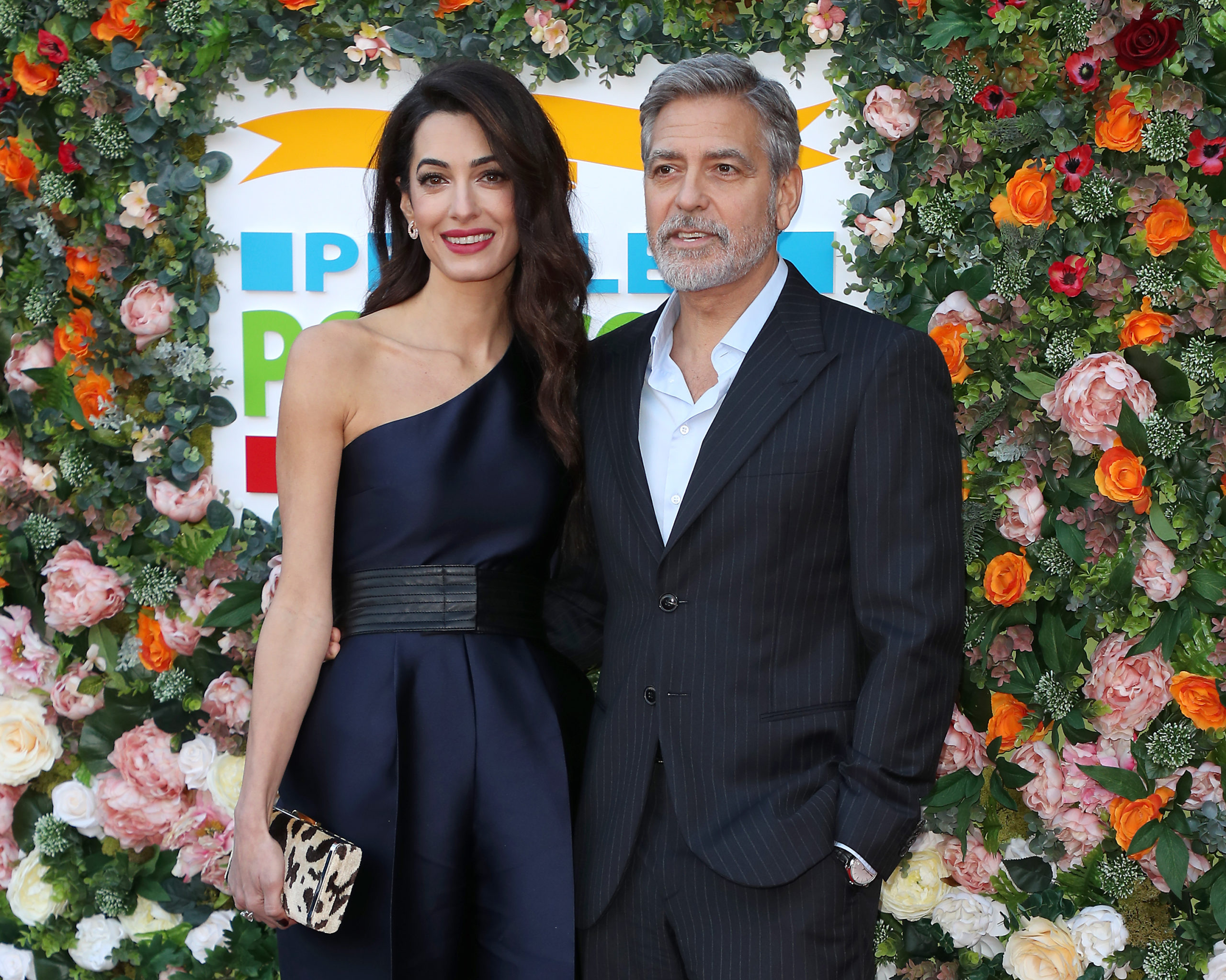 Amal e George coppia glamour