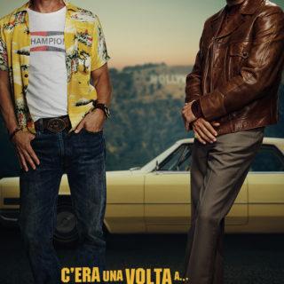 C'era una volta a... Hollywood, Leonardo e Brad nel poster