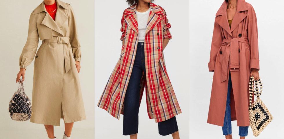 Trench moda Primavera 2019 low budget