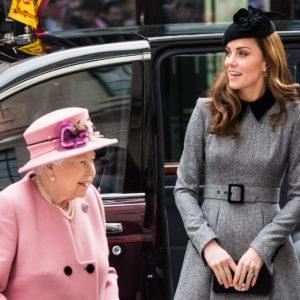 La Regina Elisabetta e Kate Middleton di nuovo insieme