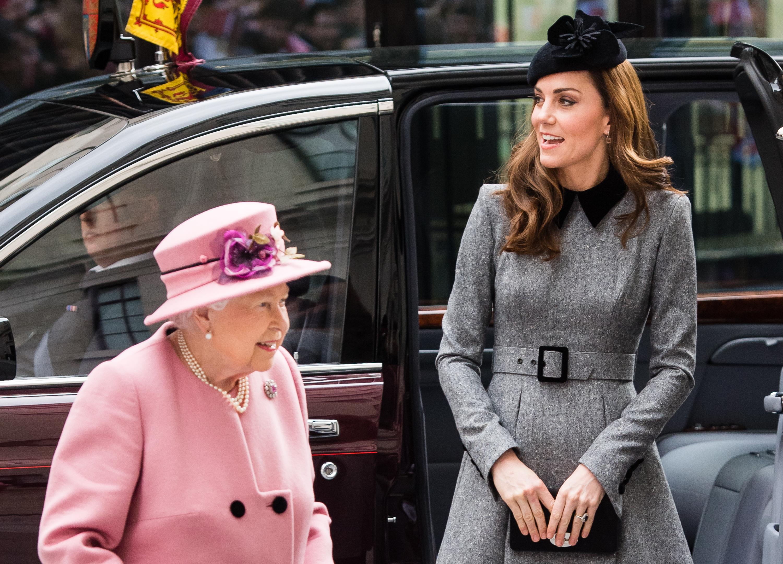 Kate e la Regina per la prima volta insieme