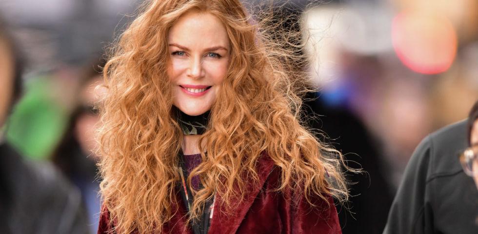 Nicole Kidman sul set del nuovo film Netflix The Prom (foto)