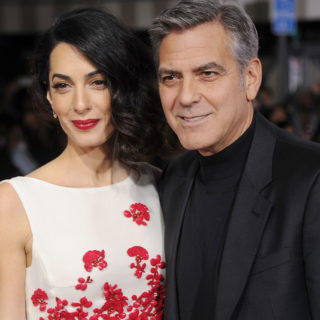 George e Amal innamoratissimi a Roma
