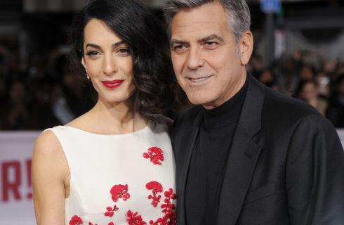George e Amal Clooney: cena romantica a Roma