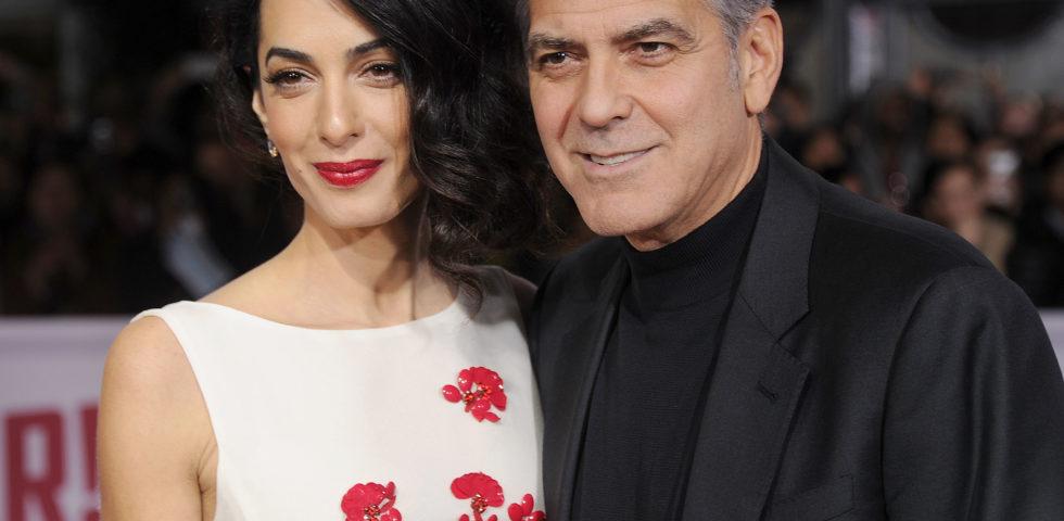 Amal e George Clooney: cena romantica dopo il lancio di TrialWatch