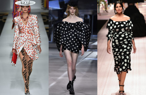 Vestiti a pois: tendenza moda Estate 2019