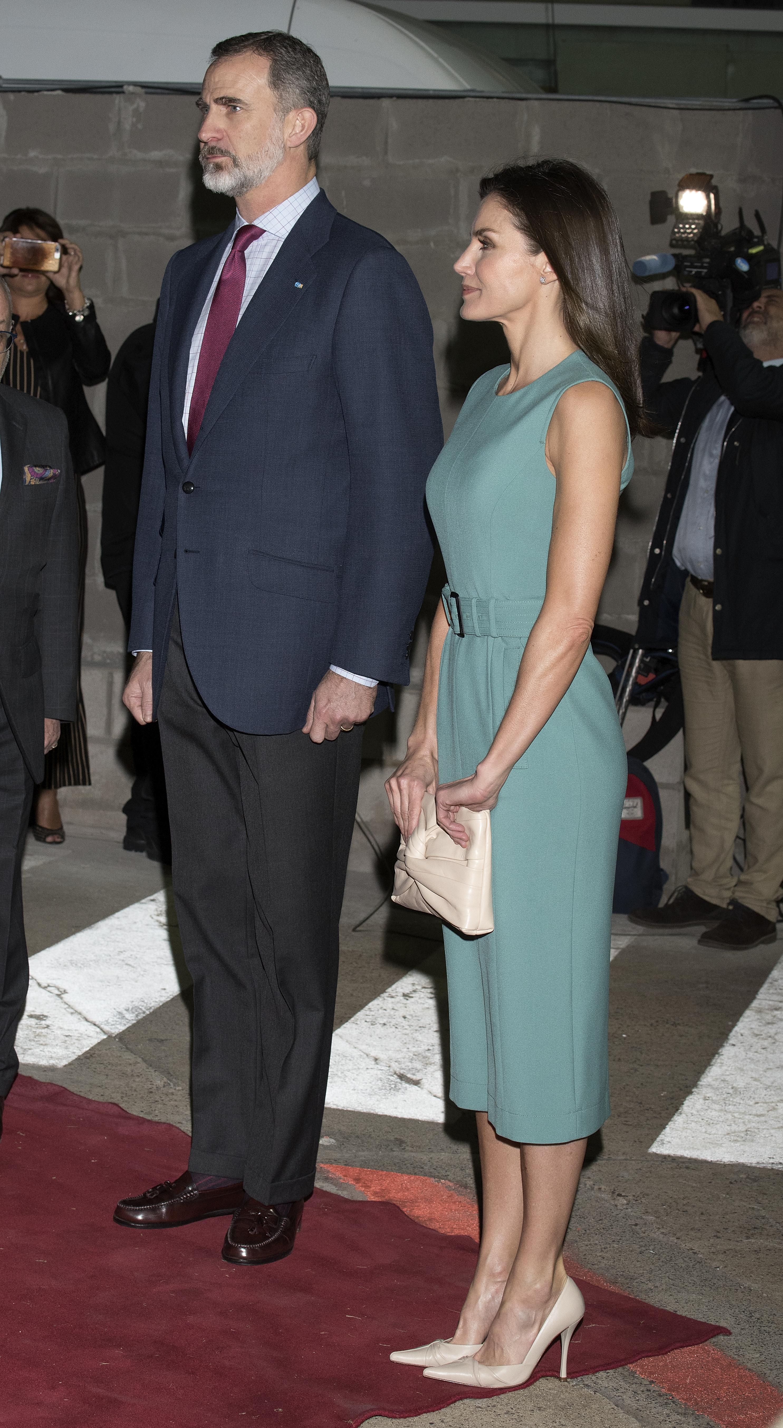 Sfida di stile tra Letizia e Juliana (foto Getty Images)